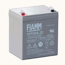 Аккумулятор FIAMM 12FGHL22 (12В/5Ач)