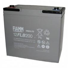 Аккумулятор FIAMM 12 FLB 200 P (12В/55Ач)