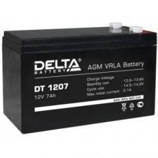 Аккумулятор Delta DT 1207 (12В/7Ач)