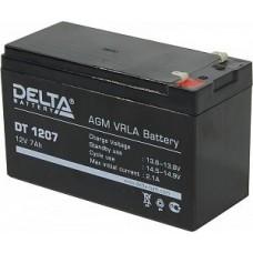 Аккумулятор Delta DT 1212 (12В/12Ач)
