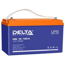 Аккумулятор Delta HRL 12-100 X (12В/100Ач)