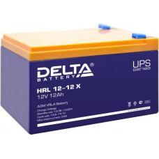 Аккумулятор Delta HRL 12-12 X (12В/12Ач)