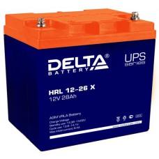Аккумулятор HRL 12-26 X (12В/26Ач)
