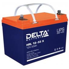 Аккумулятор Delta HRL 12-33 X (12В/33Ач)