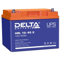 Аккумулятор Delta HRL 12-45 X (12 В / 45 Ач)