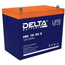 Аккумулятор Delta HRL 12-55 X (12В/55Ач)