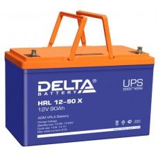 Аккумулятор Delta HRL 12-90 X (12В/90Ач)